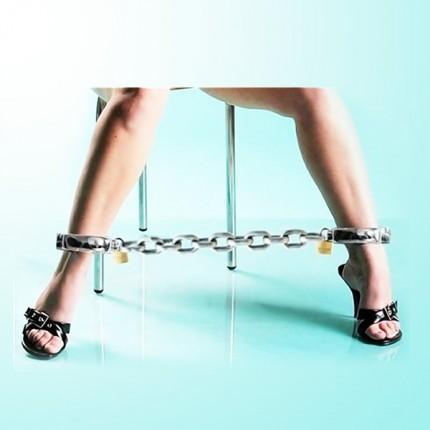 女用精致合金脚圈