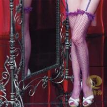 以诗萜 情趣内衣 恋紫情劫 情趣长筒袜