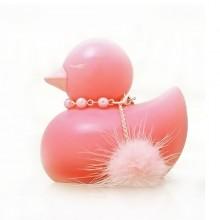 日本GALAKU-蕊 浴用鸭型震动器 可以浮在水面 粉红色 浪漫时尚女性钟爱