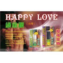 台湾绿金钢延时喷剂(10ml)