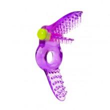 美国 FunZone-Cherry On Top锁精持久振动环 紫色