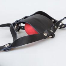 情趣口塞球马具型面罩 SM另类情趣用品