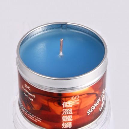 人之源 新款铁盒工艺低温蜡烛