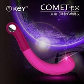 一键控制,7种震动模式,动感魔幻G点探头,安全硅胶材质,可重复使用!