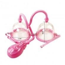 百乐电动真空吸附女用乳房增大刺激按摩器