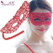 霏慕 蕾丝镂空眼罩女王面具