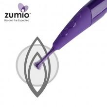 Zumio珠蜜 牙刷型女性蜜豆按摩器螺旋式摇摆自慰器