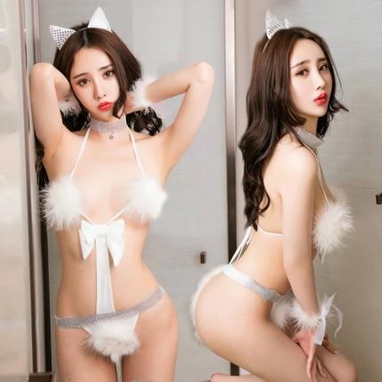 清纯猫女游戏制服诱惑套装