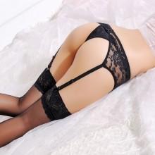 性感透明蕾丝吊袜带 丝袜伴侣