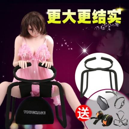 【送束缚礼包】TOUGHAGE 蹦床性爱椅垫二合一套装 情趣家具