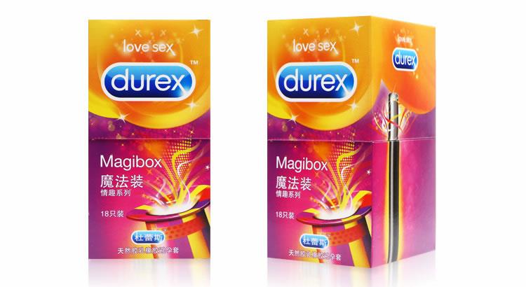 杜蕾斯 魔法裝情趣系列避孕套 大號 18只裝