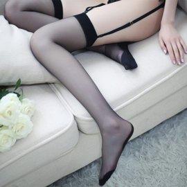 激情诱惑 性感透明 吊带丝袜
