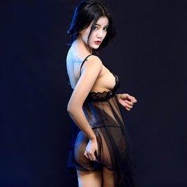 黑色蕾丝诱惑
